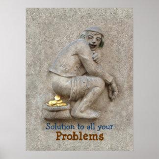 Golden Poop ~ Poster 24X18
