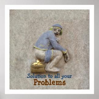 Golden Poop ~ Poster 24X24