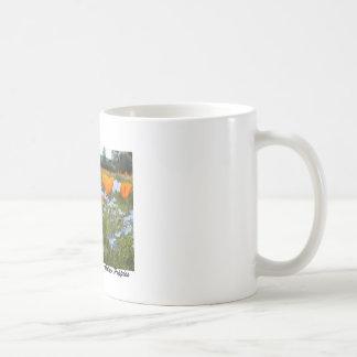 Golden Poppy Classic White Coffee Mug