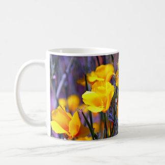 Golden Poppy Coffee Mug