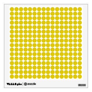 Golden Poppy Safari Dot Wall Skins