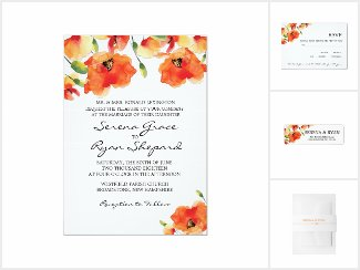 Golden Poppy Wedding