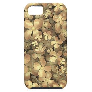 Golden Posies iPhone 5 Case