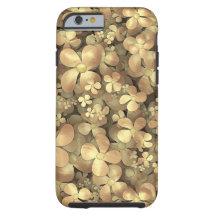Golden Posies iPhone 6 Case
