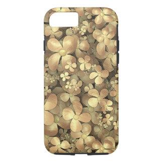 Golden Posies iPhone 7 Case