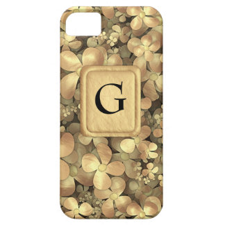 Golden Posies iPhone SE/5/5s Case