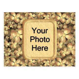 Golden Posies Postcard