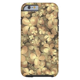 Golden Posies Tough iPhone 6 Case