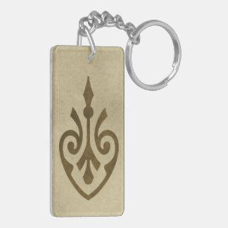 Golden Potion Bottle Acrylic Keychain