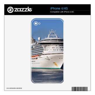 Golden Princess cruise ship Skin For The iPhone 4S