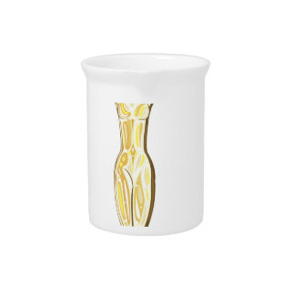 Golden Prize Beverage Pitcher