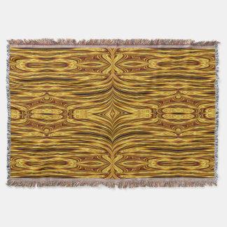 Golden Psyche SDL Throw Blanket