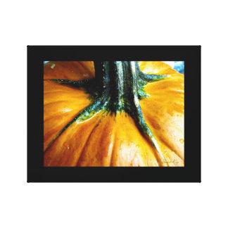 Golden Pumpkin Canvas Print