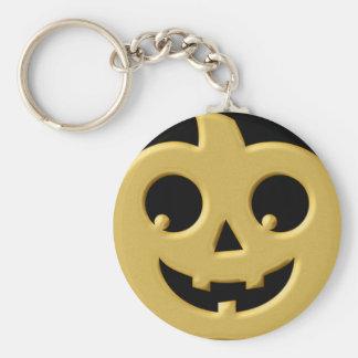 Golden Pumpkin Keychain