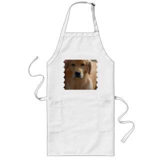 Golden Pup Long Apron