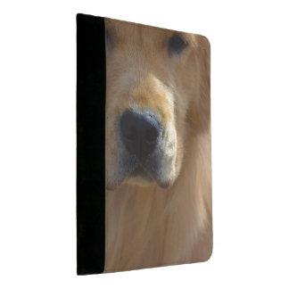 Golden Pup Padfolio