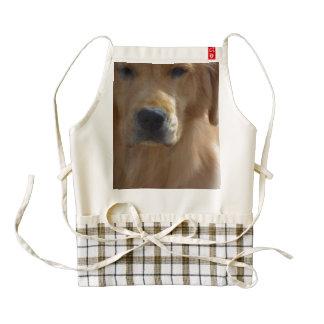 Golden Pup Zazzle HEART Apron