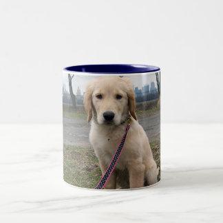 Golden Puppy by The Reservoir Coffee Mug