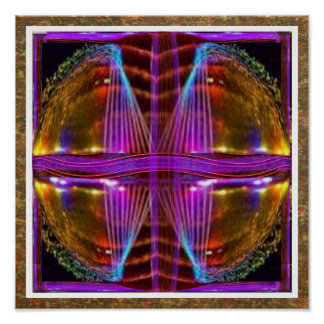 Golden Purple :  BOW n ARROWS Focussed EYES Poster