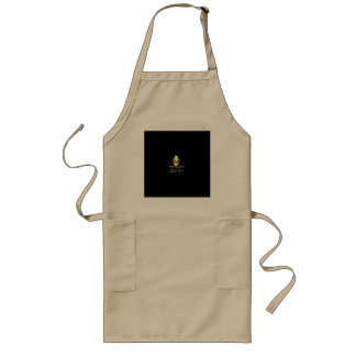 Golden Quads Long Apron