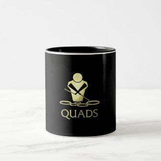 Golden Quads Two-Tone Coffee Mug