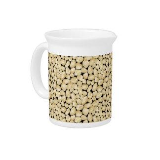 Golden quartz drink pitcher