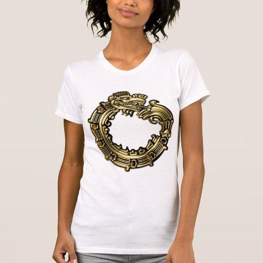 Golden Quetzalcoatl Shirt