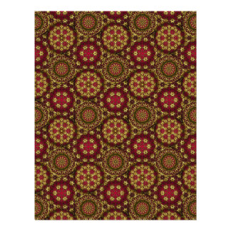 Golden Radial Net Lg Any Color Scrapbook Paper Personalized Letterhead