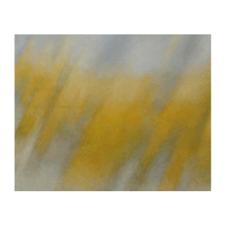 Golden Rain Wood Wall Decor