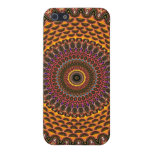 Golden Rainbow Mandala Pattern iPhone 5 Cover