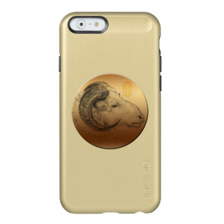 Golden Ram Chinese Astrology Sign Incipio Feather Shine iPhone 6 Case