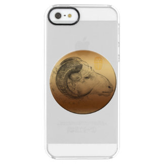 Golden Ram Chinese New Year of the Sheep Clear iPhone SE/5/5s Case