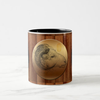 Golden Ram Chinese Zodiac Birthday Mug
