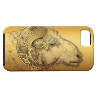 Golden Ram or Sheep Chinese New Year 2015 - iPhone SE/5/5s Case