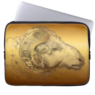 Golden Ram Sheep Chinese New Year 2015 - Laptop Sleeves