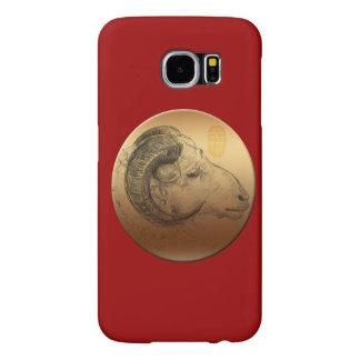 Golden Ram Year - Chinese Astrology Samsung Galaxy S6 Case