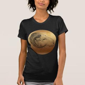 Golden Ram Year Chinese Astrology Zodiac Women BT T-Shirt