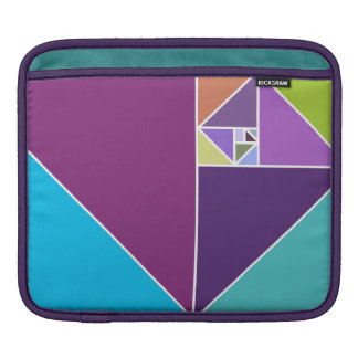 Golden ratio (Bright Colors) Sleeve For iPads