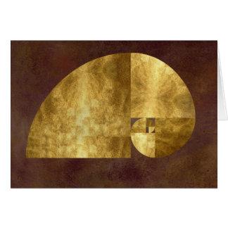 Golden Ratio Card