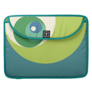 Golden Ratio Circles (Green) MacBook Pro Sleeve
