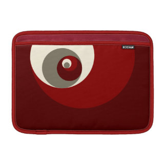 Golden Ratio Circles (Red) MacBook Air Sleeve