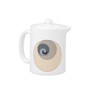Golden Ratio Circles Teapot