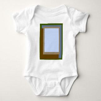 Golden Ratio Copper Blocks Baby Bodysuit