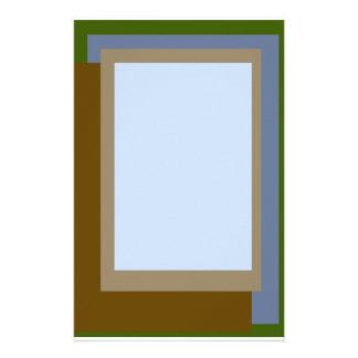Golden Ratio Copper Blocks Stationery Paper