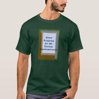 Golden Ratio Copper Blocks T-Shirt
