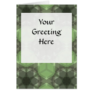 Golden Ratio Emerald Forest Lg Any Color Greeting Card