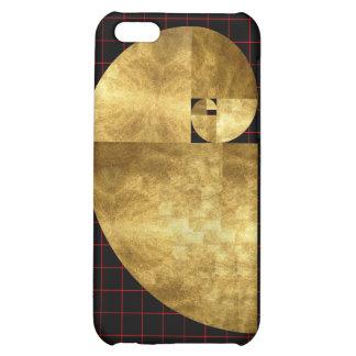 Golden Ratio, Fibonacci Spiral Art iPhone 5C Cases