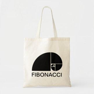 Golden Ratio, Fibonacci Spiral Canvas Bags