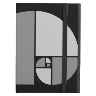 Golden Ratio, Fibonacci Spiral iPad Air Case