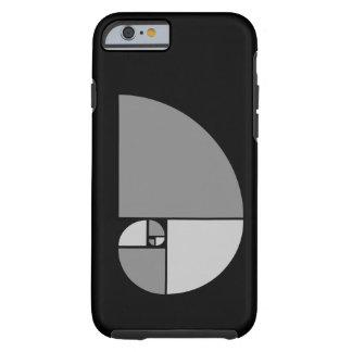 Golden Ratio, Fibonacci Spiral iPhone 6 Case